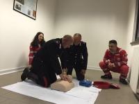 CRI: a lezione di primo soccorso anche l'Arma dei Carabinieri