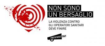 """Al via """"Non sono un bersaglio"""", la Campagna CRI contro le violenze agli operatori sanitari"""