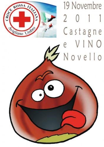 Castagnata e vino novello..